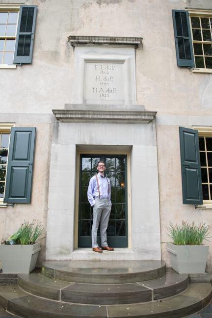 Hagley Fantail groom manor house door