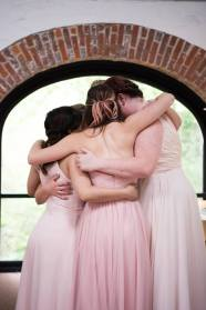 Hagley Fantail group hug maids