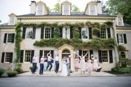 Hagley Fantail manor house jumping party