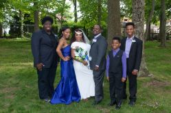 Linton wedding best to wait for bridal party