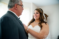 Foschi Orner bride and father