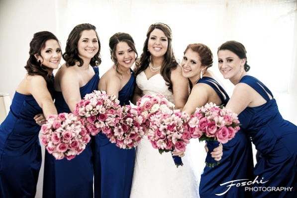 Foschi Orner bride and maids