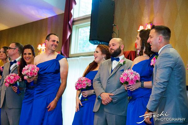 Foschi Orner Bridesman in dress