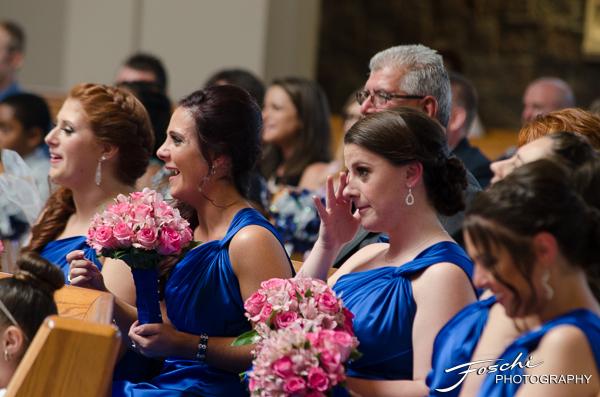 Foschi Orner maids reaction in church