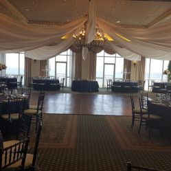 Rehoboth BEach Country Club draped