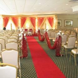 Rehoboth Beach Country Club indoor wedding