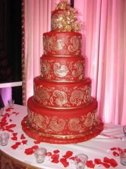 Rehoboth Beach Country Club red cake