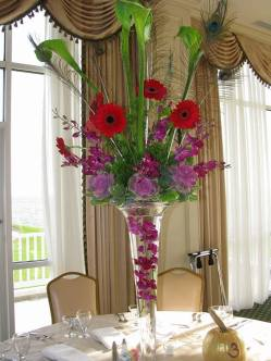 Rehoboth Beach Country Club table flowers