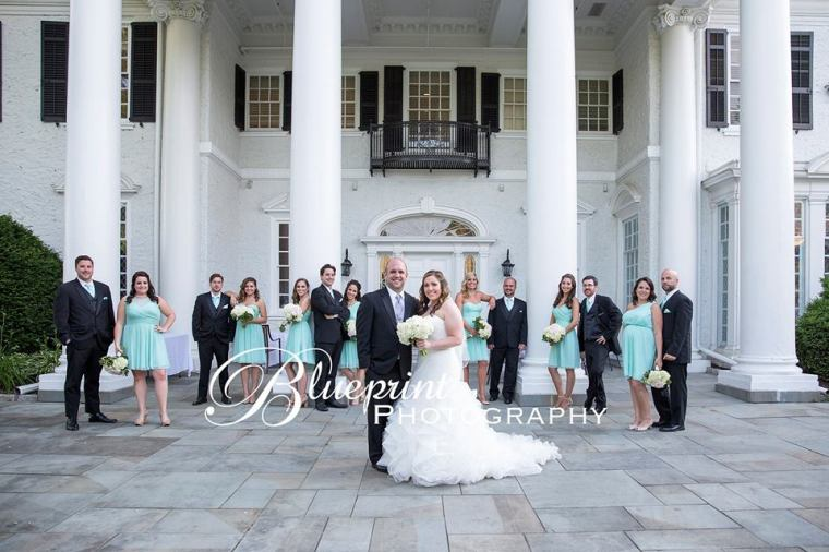 Blueprint Radner Valley all bridal party columns