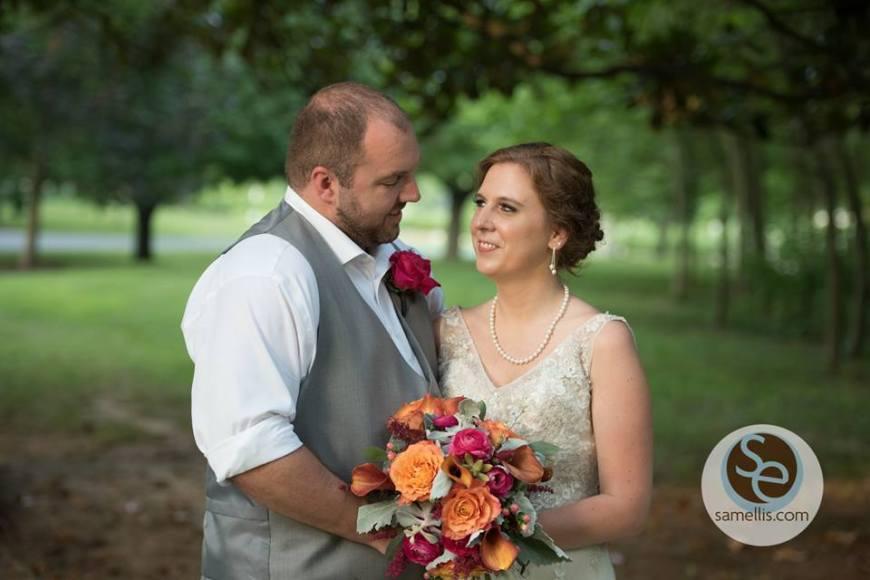 Nassau Valley Sam Ellis bride groom