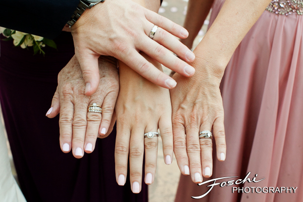 Foschi wedding pink generation hands