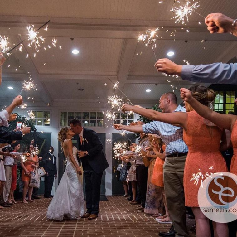 kelly-ann-baywood-sparkler-send-off