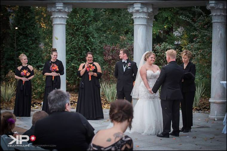 kelly-phillips-erica-austin-ceremony-bridemaids-laughing-moment
